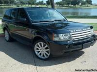 2006 Range Rover Sport Supercharged. This is a 1 owner