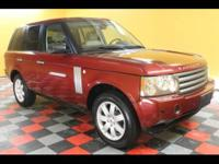 2006 Land Rover Range Rover HSE Clean Auto Check.One