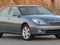 Options:  2006 Lexus Es 330|Black/Cashmere|V6 3.3L V6
