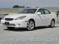 (Stk# 4-5157) 2006 Lexus ES330. The style you expect,