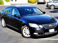 2006 Lexus GS 300 blk on blk Sedan 4dr Sdn RWD Our