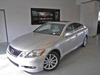 A CLEAN 2006 LEXUS GS300 SEDAN W LEATHER SEATS !!! IPOD