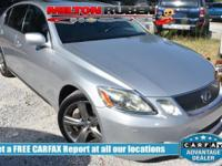 Options:  2006 Lexus Gs 430 4Dr Sedan|Miles: