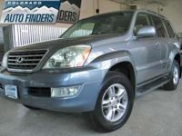 2006 Gray Lexus GX470 Denver/Aurora. SPACIOUS AND