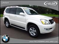 Extra Clean, GREAT MILES 49,890! GX 470 trim, Blizzard