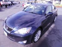 Only 1 previous owner on this 2006 Lexus IS 250 AWD.
