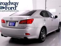 Look at this 2006 Lexus IS 250 Auto. It has an