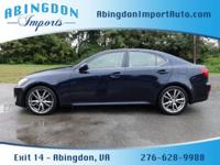 Options:  2006 Lexus Is 250|4Dr Sedan