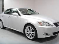 This 2006 Lexus IS 250 Sedan just came in, it is