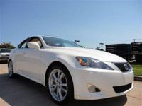 THIS 2006 LEXUS IS250 JUST CAME IN. THIS LEXUS HAS THE