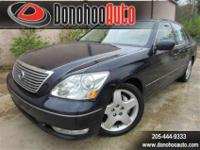 Carfax Certified. This 2006 Lexus LS 430 is a Bargain