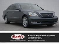 Enjoy legendary Lexus luxury with this 2006 LS 430