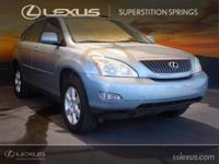 Clean CARFAX. Ivory w/Leather Seat Trim.  2006 Lexus RX