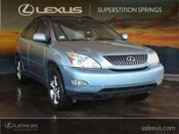 2006 Lexus RX 330 3.3L V6 SMPI DOHC 24V Odometer is