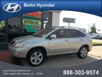 Bohn Hyundai presents this 2006 LEXUS RX 330 4DR SUV