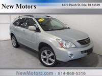 Come test drive this 2006 Lexus RX 400h! An all capable