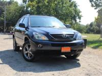 Our 2006 Lexus RX 400h offers powerful acceleration,