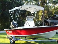 2006 Mako 181, 18' Center Console Boat, w/ Mercury