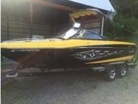 2006 Malibu 21' VLX Wakesetter - Excellent condition.