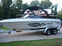 You are looking at a 2006 Malibu Wakesetter with 136