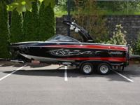 Pros have it as their individual wakeboard boat.