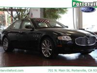 New Price! CARFAX One-Owner. Clean CARFAX. Quattroporte