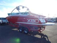 2006 MasterCraft X80 STS 2006 Eagle Tandem Axle Trailer