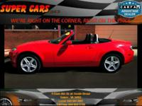 Call us at 1- for a FREE CAR FAX!! Here at SUPER CARS