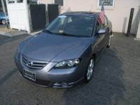 *2006 MAZDA3 SPORT * FACTORY NAVIGATON CLEAN CARFAX AND