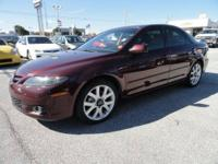 The sporty 2006 Mazda 6 is Fun to drive, smooth power