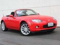 Miata Sport LOW MILES, ABS brakes, and Alloy wheels.