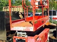 2006 MEC 2633ES electric drive scissor lift, 26'