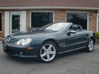 V8, SL500, Hard Top Convertible, Heated and Cooled