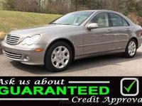 2006 MERCEDES C-CLASS C280 four DOOR LUXURY SEDAN 3.0L