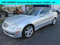 One owner!! 2006 Mercedes-Benz CLK 350 Conv. w/