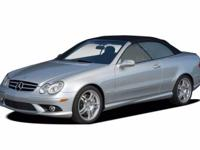 This 2006 Mercedes-Benz CLK-Class 5.5L AMG is offered