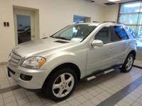 ML350 AWD, Local Trade In, New Tires, and Sunroof /