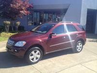 This 2006 Mercedes-Benz M-Class 5.0L is offered to you