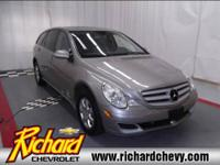 Drive home in this AWD R-Class Mercedes today! Features