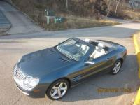 A 2 door coupe with retractable hard top for use as a