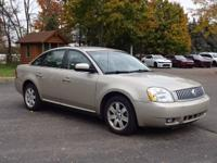 Options:  2006 Mercury Montego Luxury|Beige|New Price!
