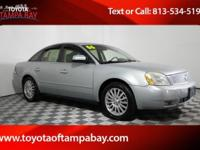 Options:  2006 Mercury Montego Premier|Silver|Awd. Your