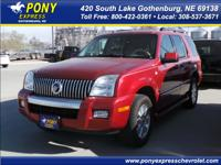 Exterior Color: vivid red clearcoat metallic, Body: SUV
