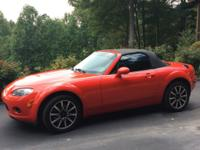 2006 Miata 5x  6 speed automatic Mileage 113,500