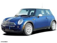 Recent Arrival! 2006 MINI Cooper Blue 28/36mpg The #1