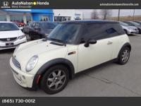 This 2006 MINI Cooper Hardtop comes with a CARFAX