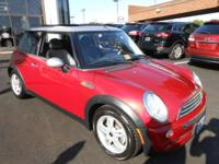 Right here's a lot on a 2006 MINI Cooper! Packed with