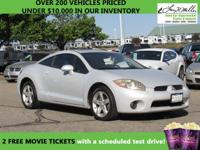 This 2006 Mitsubishi Eclipse GS will sell fast ABS