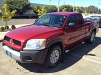This 2006 Mitsubishi Raider Duro Cross is offered to