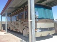 What a beauty! 2006 40' Monaco Knight Motor Home.